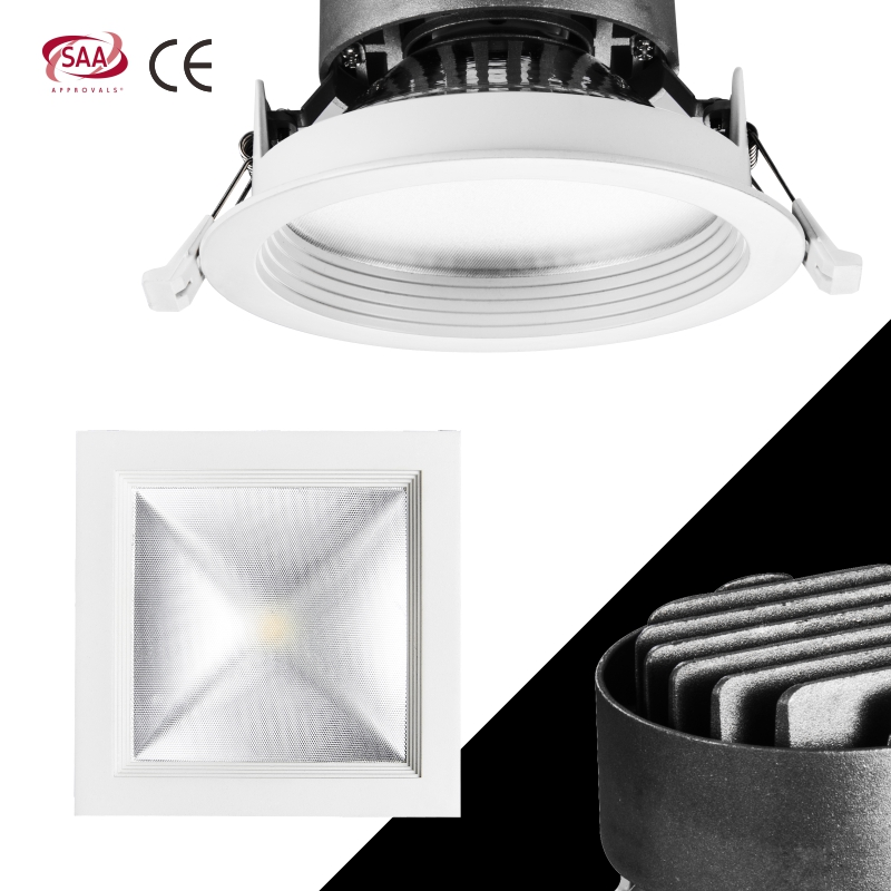 H16A Best Sale Wholesale Ultra Thin 15w 20w Downlight Recessed <strong>LED</strong> <strong>Light</strong> Down <strong>Light</strong>. COB <strong>LED</strong> Downlight