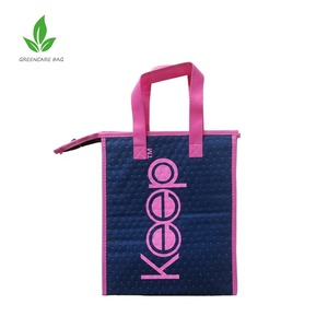 Cheap insulated non woven cooler bag with customized logo