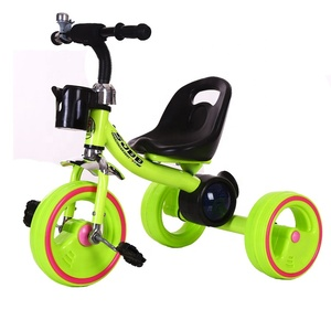 China Cheap baby kid child tricycle 3 wheel have Lights and music