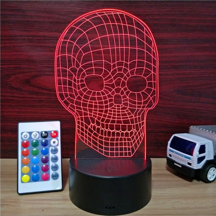 Illusion 3D Night Lamp ABS Base USB Night <strong>Light</strong> 3D Table Lamp