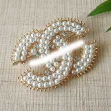 High quality jewelry pearl brooch pins