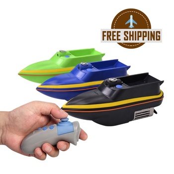 FREE SHIPPING dropship waterproof autopilot carp mini fish bait boat