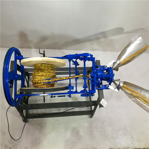 Easy to use and preferential braided rope making machine