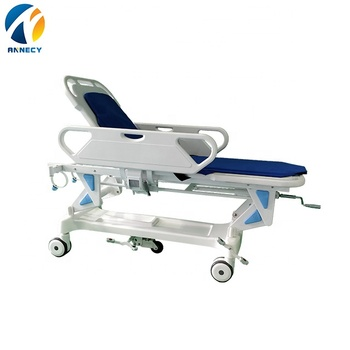 AC-ST002 manual emergency transfer trolley hospital operating room use Stretcher trolley