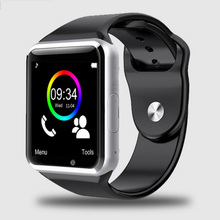2019 New A1 <strong>Smart</strong> <strong>Watch</strong> With Touch Screen Camera Wireless Smartwatch for Android for iPhone
