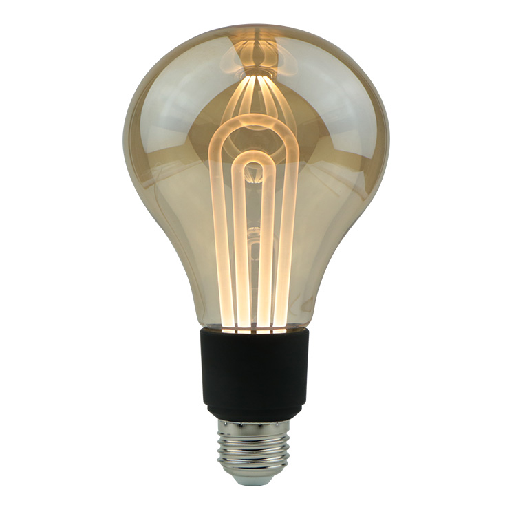 2019 new <strong>product</strong> u shape G100 glass twilight led light bulb