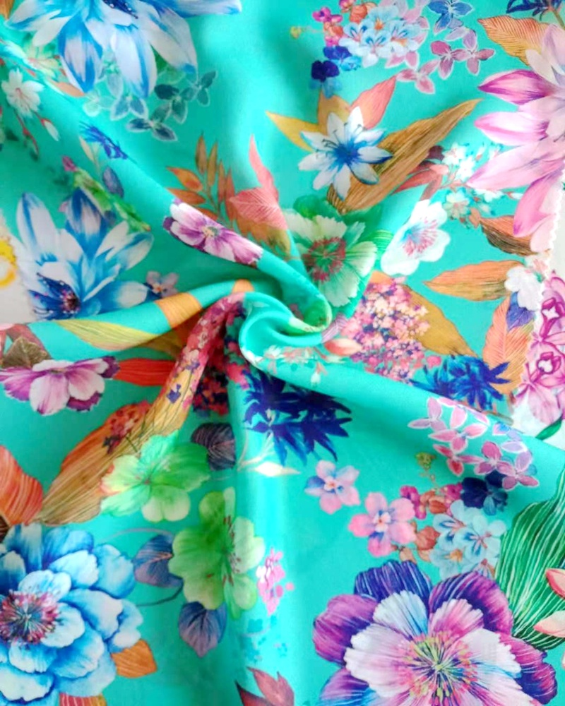 buy keqiao poly twill new and custom printed design <strong>fabric</strong> for clothing
