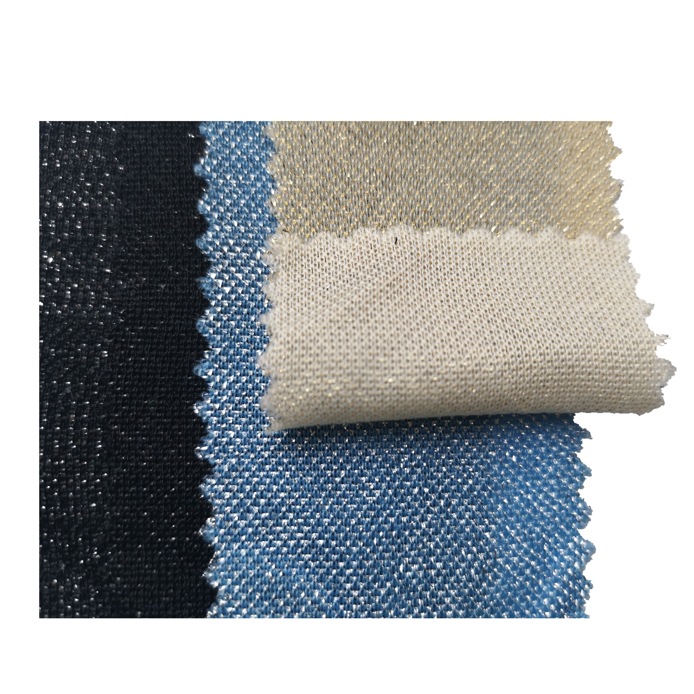 READY GOODS WHOLESALE LIGHT WEIGHT <strong>NYLON</strong> METALLIC LUREX KNIT FABRIC