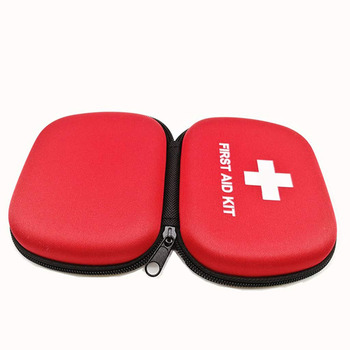 Outdoor tactical medical mini survival box bags case eva first aid box for military