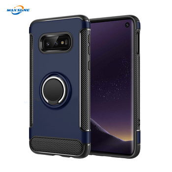 Maxshine New Product Carbon Fibre Phone Case For Samsung S10 S10 Plus S10E Smartphone