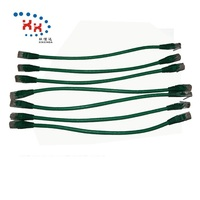 Pass Test 24AWG UTP Cat 6 30cm Lan Cabling Networking Patch Cord Cable