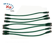 Pass Test 24AWG UTP Cat 6 30cm Lan Cabling <strong>Networking</strong> Patch Cord Cable