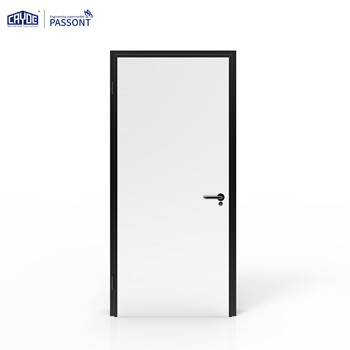 Model style aluminum alloy single door design front door designs