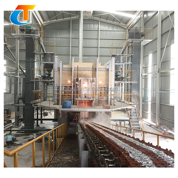 High Efficient Glass Machine For Sodium Silicate And Ceramic Frit