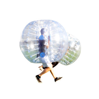 Large Outdoor Games Bumperball Suit Adult Size 1.5m Human Buddy Zorbing Balls Inflatable Body Bumper Ball On Land