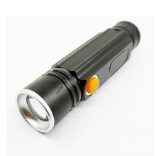 USB Rechargeable 700 Lumens Aluminum Alloy Led Zooming Camping Torch