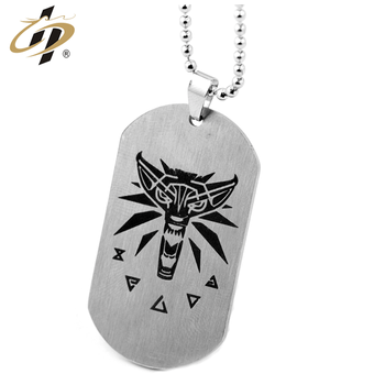 Shuanghua Cheap metal black nickle plating dogtags embossed custom dog tag