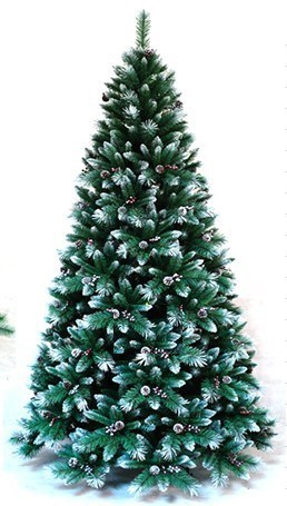 Mountain King Artificial Christmas Tree Snowing Christmas