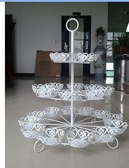new style cake stand metal cupcake stand 2 tier cake stand