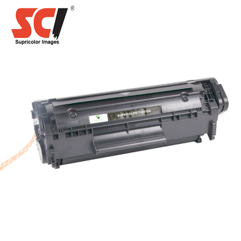Supricolor wholesale compatible printer cartridge toner Q2612A for hp LaserJet 1010/1012/1015/1018/1020/1020PIUS