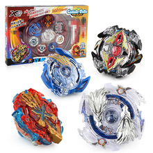 Spinning Battle Arena Metal Beyblades toys Gyro 4 in 1 Set Top with Launcher and Stadium B48 B66 B34 B59