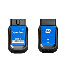 VPECKER E4 Easydiag Bluetooth <strong>Full</strong> System OBDII Scan Tool for Android for ABS Bleeding/Battery/DPF/EPB/<strong>Injector</strong>/Oil Reset/TPMS
