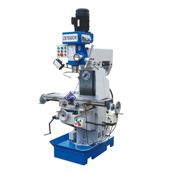 ZX7550CW Universal drilling and milling machine for metal