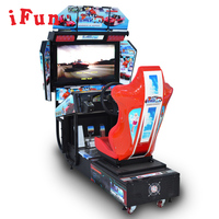 Outrun Coin Operated Car Racing simulator video Arcade Game For Game Zone