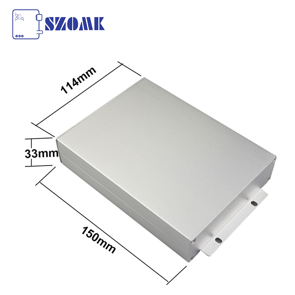 33*<strong>114</strong>*free mm electronics project box anodizing aluminum enclosure for industry