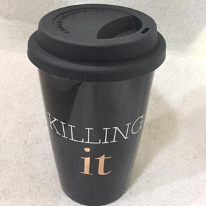 New product ceramic coffee travel mug ceramic coffee mug with lid