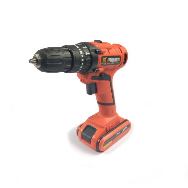 Power Tool 21V Lithium-Ion Multi-Functional Cordless Impact <strong>Drill</strong>