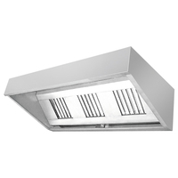 BN-H03 Good quality industrial British style kitchen exhaust hood