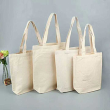 Natural blank custom logo printed eco-friendly cotton canvas tote <strong>bags</strong> in stock