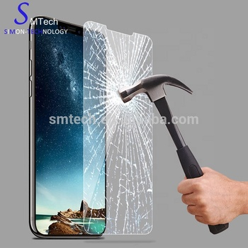 For iPhone X XS max glass Factory price 9H tempered glass screen protector