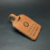 Professionally Produce Logo Embossed Customized Leather Hang Tag