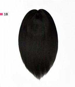2019 factory price cutting edge styles soft and natural looking innovative women topper hair