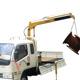 China 1000kg pickup truck hydraulic lifting crane manufacturer