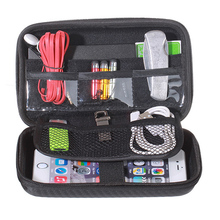 Travel Electronics Accessories Storage Bags for <strong>Cable</strong>, Cord, USB, SD Cards, Chargers, hard disk
