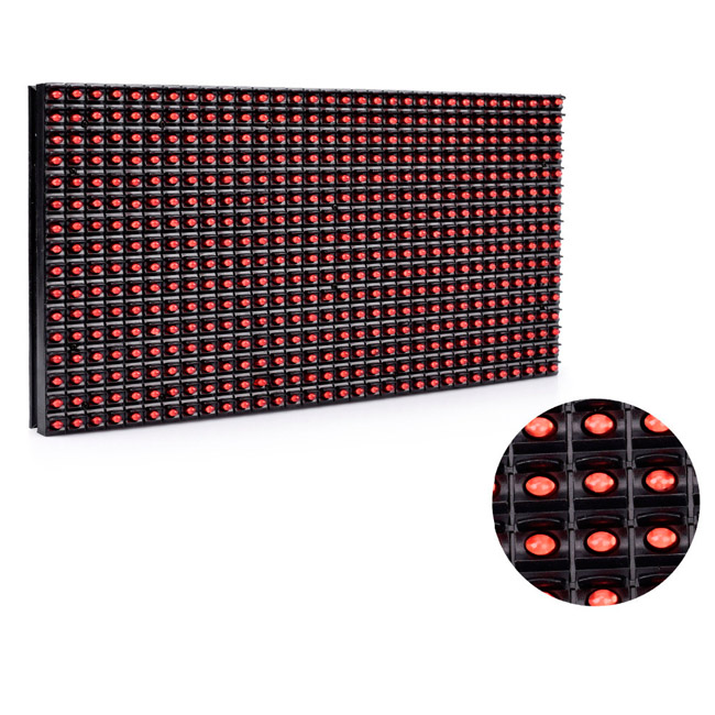 aliexpress shenzhen niyakr <strong>p10</strong> <strong>1r</strong> 32 16 led module outdoor <strong>p10</strong> single red color led display module <strong>p10</strong>(<strong>1r</strong>)-v701c