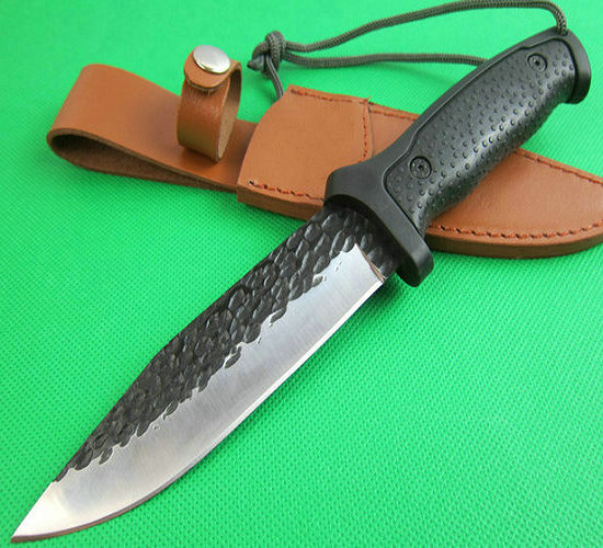 <strong>A08</strong> tactical survival knives camping hunting tool hand handmade knife 60HRC with ABS handle 1623