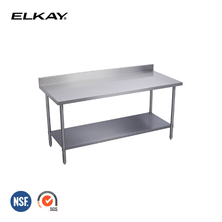 NSF Stainless steel Customized Commercial Restaurant Hotel bar Kitchen Work Table work bench WTSBGX
