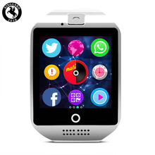 2019 new arrivals phone dialer q18 <strong>smart</strong> <strong>watch</strong> for whatsapp and facebook