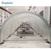hardness transparent underwater acrylic glass tunnel aquariums manufacturer aquarium large acrylic tunnel curved sheet