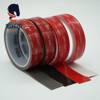 China Manufactory grey acrylic foam tape double sided strong adhesive 1mm black prices