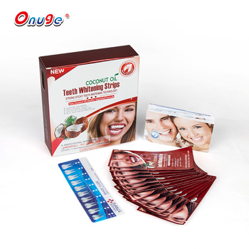 Professional home use white strips teeth whitening dry strips