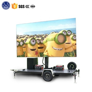 New Product factory led advertising truck / trailer mobile digital advertising led billboard / led display truck