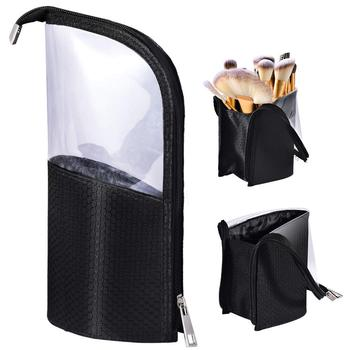 Wholesale profession high quality portable waterproof make up brush bag