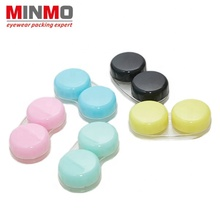 high quality with logo contact lens case lenses