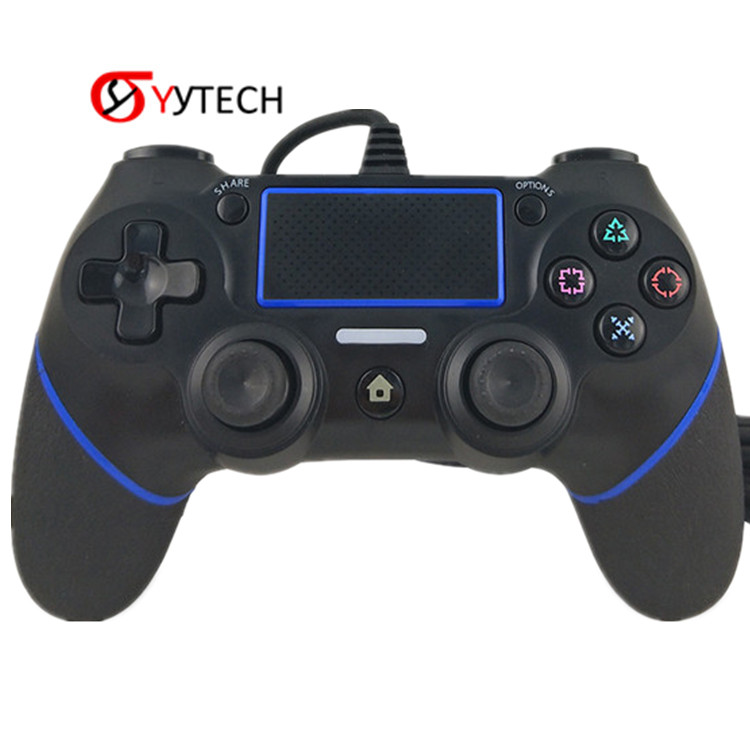 SYYTECH USB Wired Joystick <strong>Controller</strong> For PlayStation 4 Gamepad Wired <strong>Controller</strong> For PS4