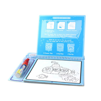 New Drawing Toy Water Drawing Book Doodle Book With A Pen